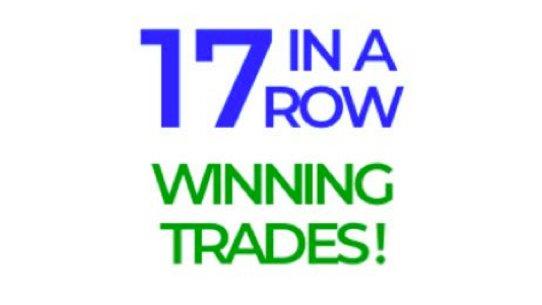 EWO 17 WINNING TRADES IN A ROW