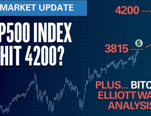 Will S&P500 hit 4200? … plus Bitcoin Analysis