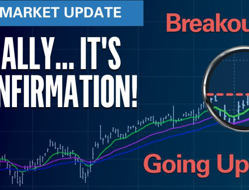 Finally .. Confirmation! Going Up?