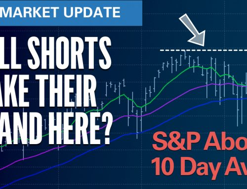 Will Shorts Make Their Stand Here?