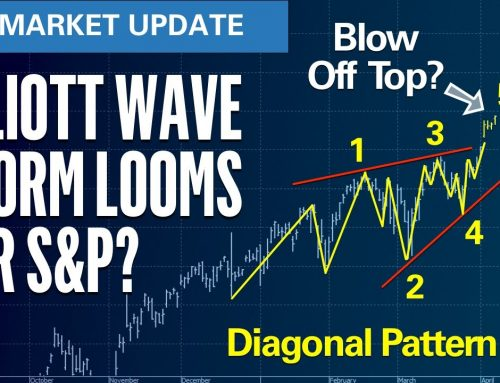 Storm Cloud Looming for Stocks? | S&P500 VIX Elliott Wave