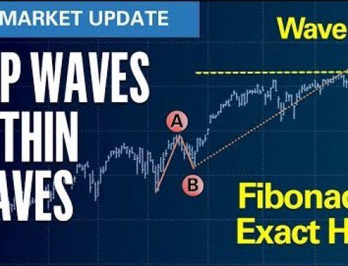 S&P Waves Within Waves – Fibonacci Target Exact Hit!| U.S. Market Update