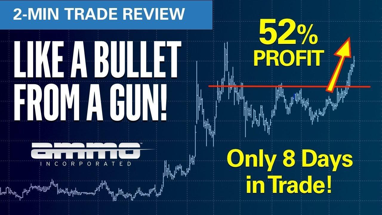 EWO 2 minute trade