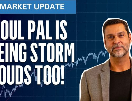 Raoul Pal Sees Storm Clouds Too! | S&P500 VIX Elliott Wave U.S. Market Update