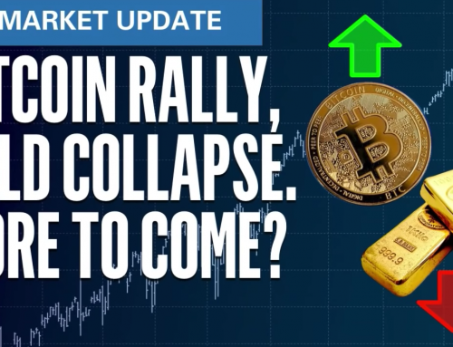 Bitcoin Rally, Gold Collapse More to Come? | S&P500 VIX Elliott Wave U.S. Market Update