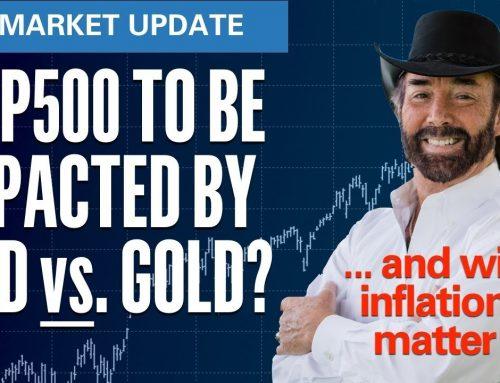 S&P500 to be Impacted By USD vs Gold? | S&P500 VIX Elliott Wave U.S. Market Update