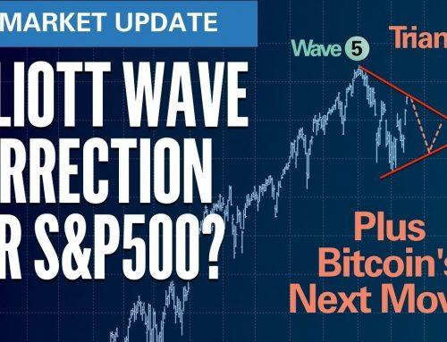 Elliott Wave Corrective Triangle for S&P? | S&P500 VIX Elliott Wave U.S. Market Update